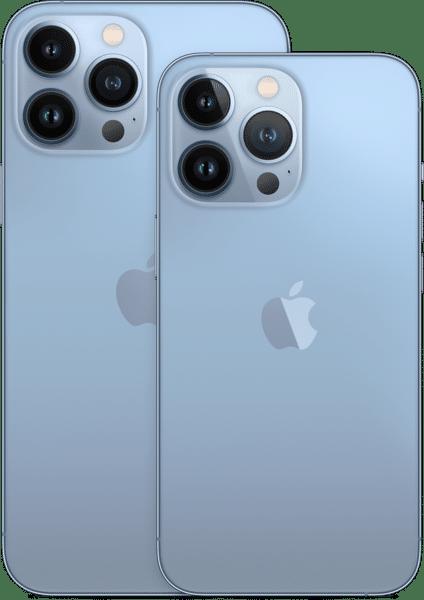 Miniatura dos iPhones 13 Pro e 13 Pro Max