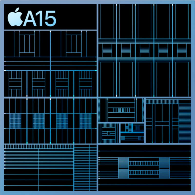 Chip A15 por dentro