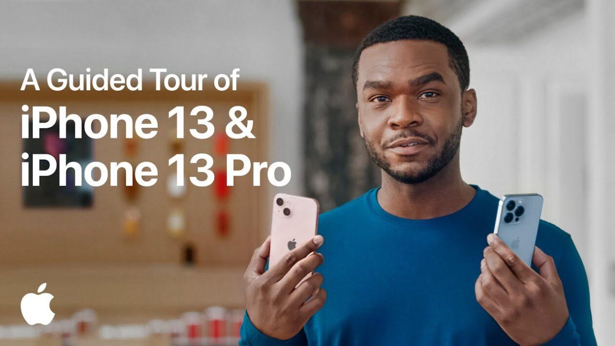 Tour guiado pelos iPhone 13 e 13 Pro