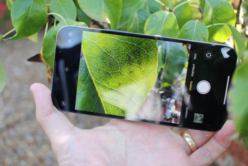 Câmera do iPhone 13 Pro