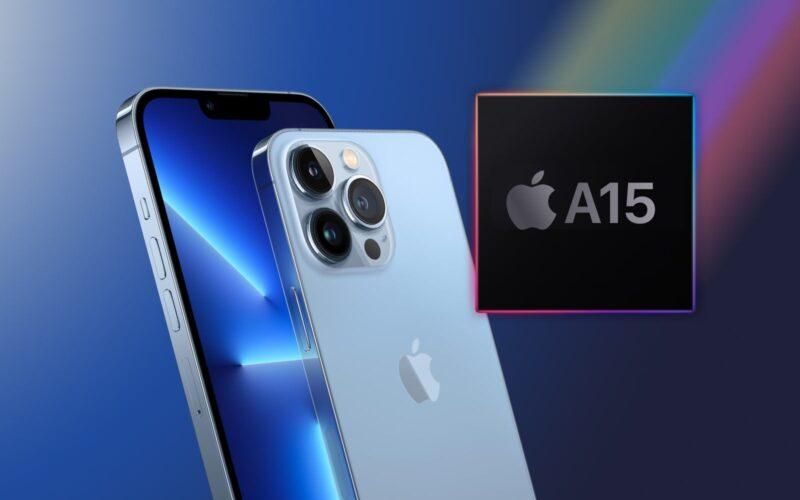 Chip A15 e iPhones 13