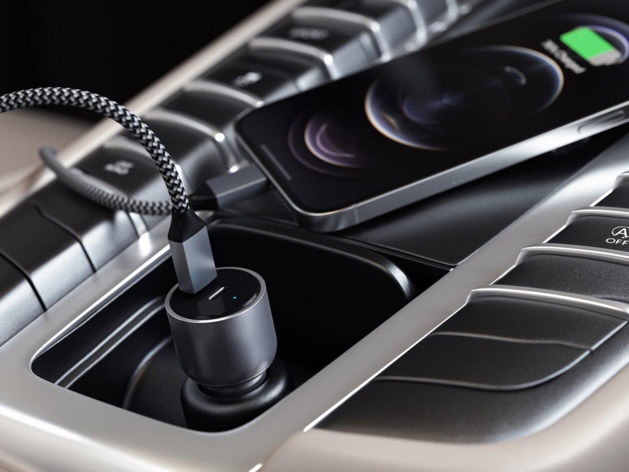 Carregador veicular USB-C da Satechi