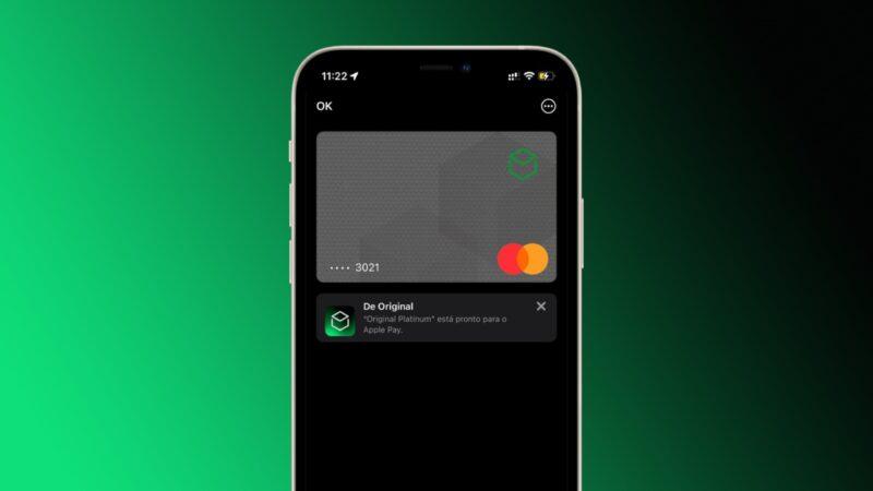 Cartões do Banco Original no Apple Pay
