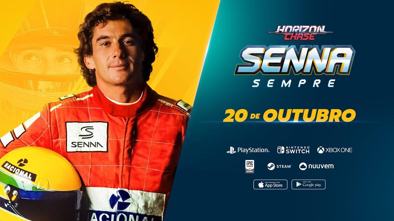Expansão de Horizon Chase: Senna Sempre