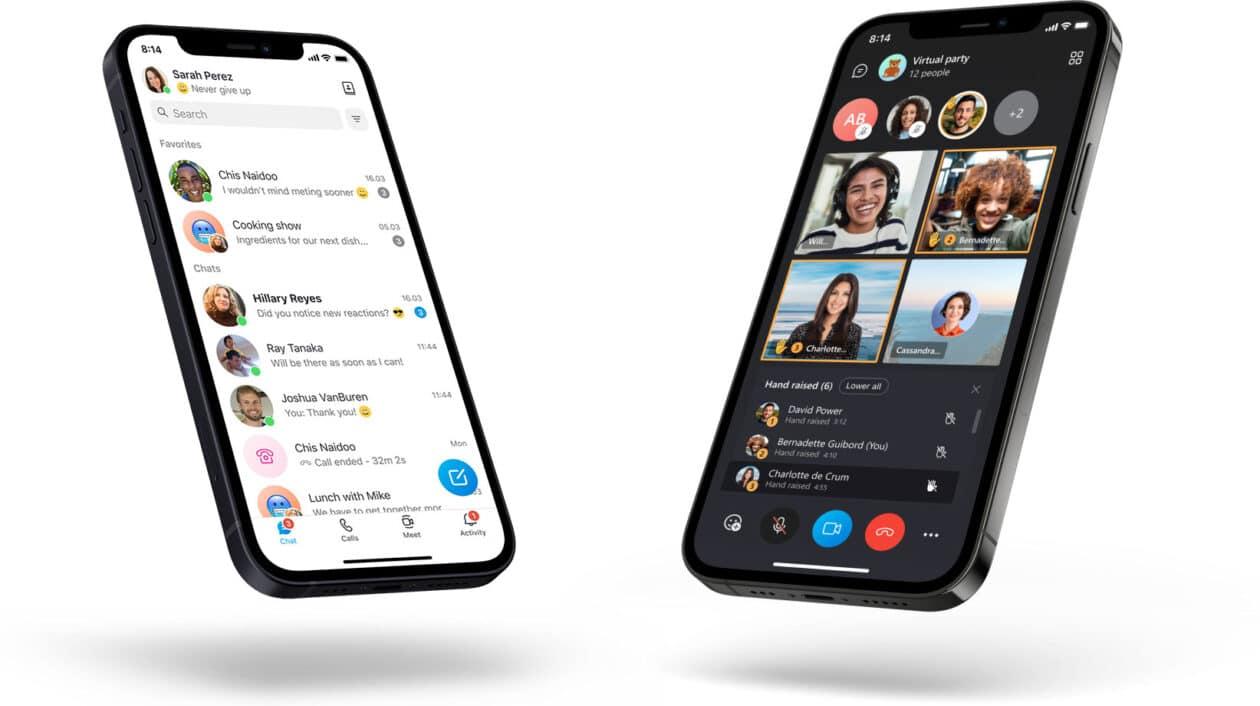 Skype no iOS