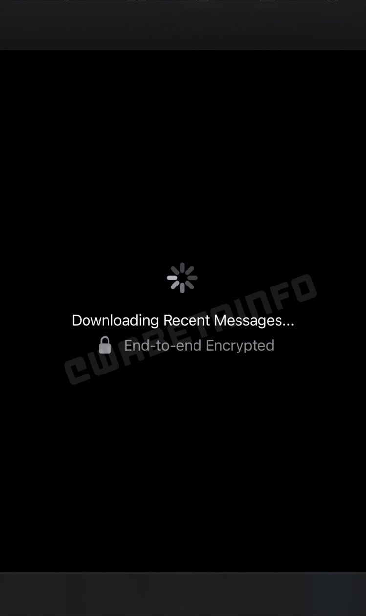 Download de mensagens do WhatsApp em um novo dispositivo