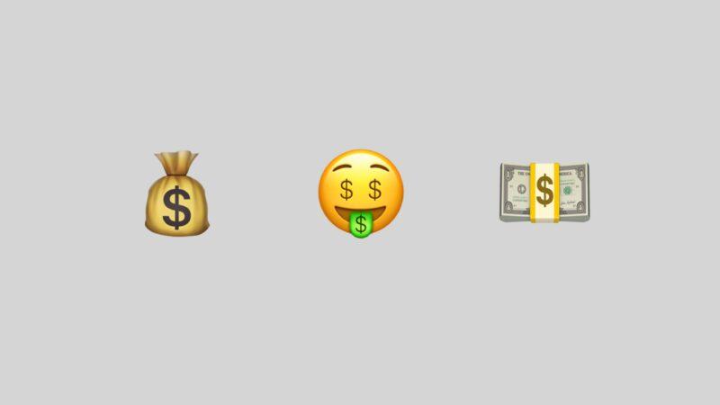 Emojis de dinheiro