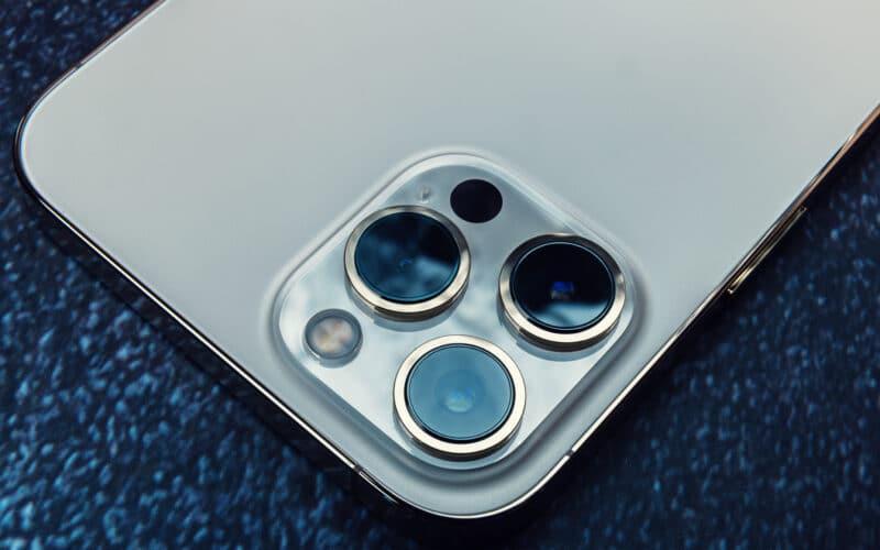 Câmera do iPhone 12 Pro Max