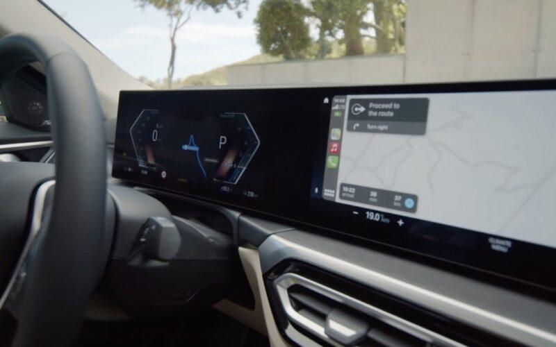 CarPlay no BMW i4