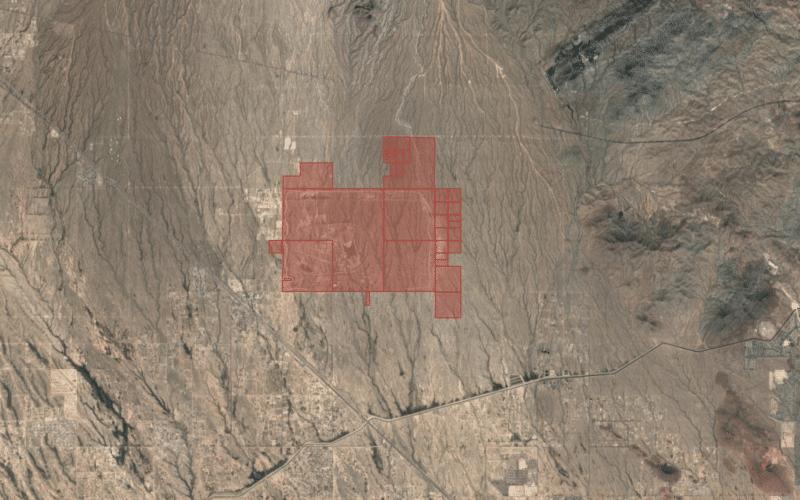 Terreno de testes do Apple Car no Arizona