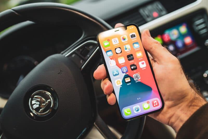 CarPlay com o iPhone 12 Pro