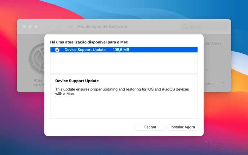 Device Suport Update