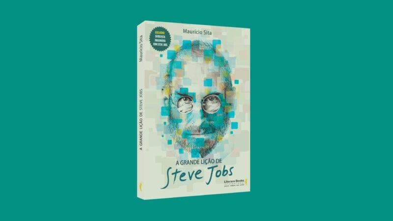 """Capa do Livro """"A Grande Lição de Steve Jobs"""""""