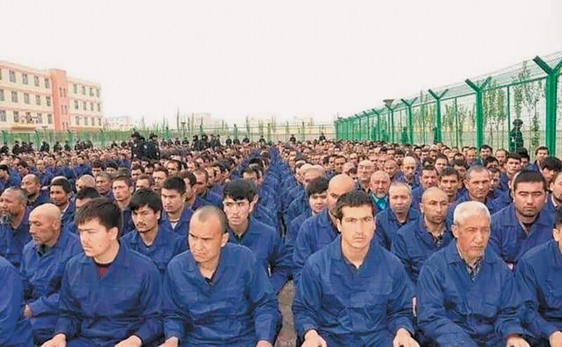 Uigures detidos