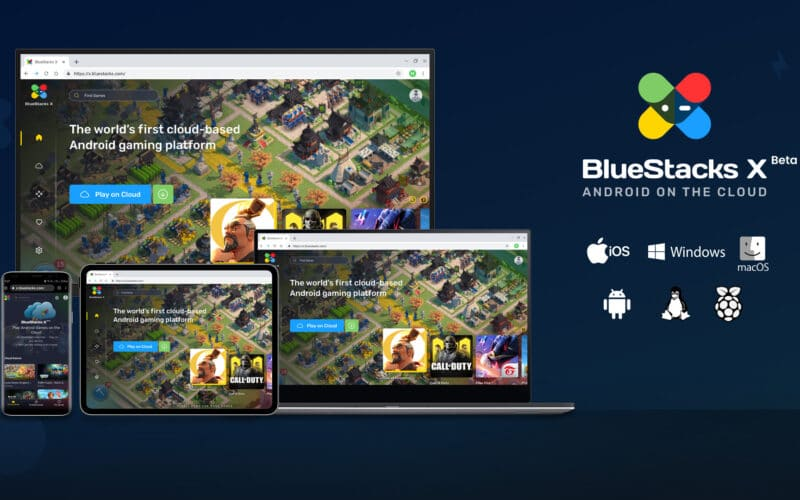 BlueStacks X, streaming de jogos Android
