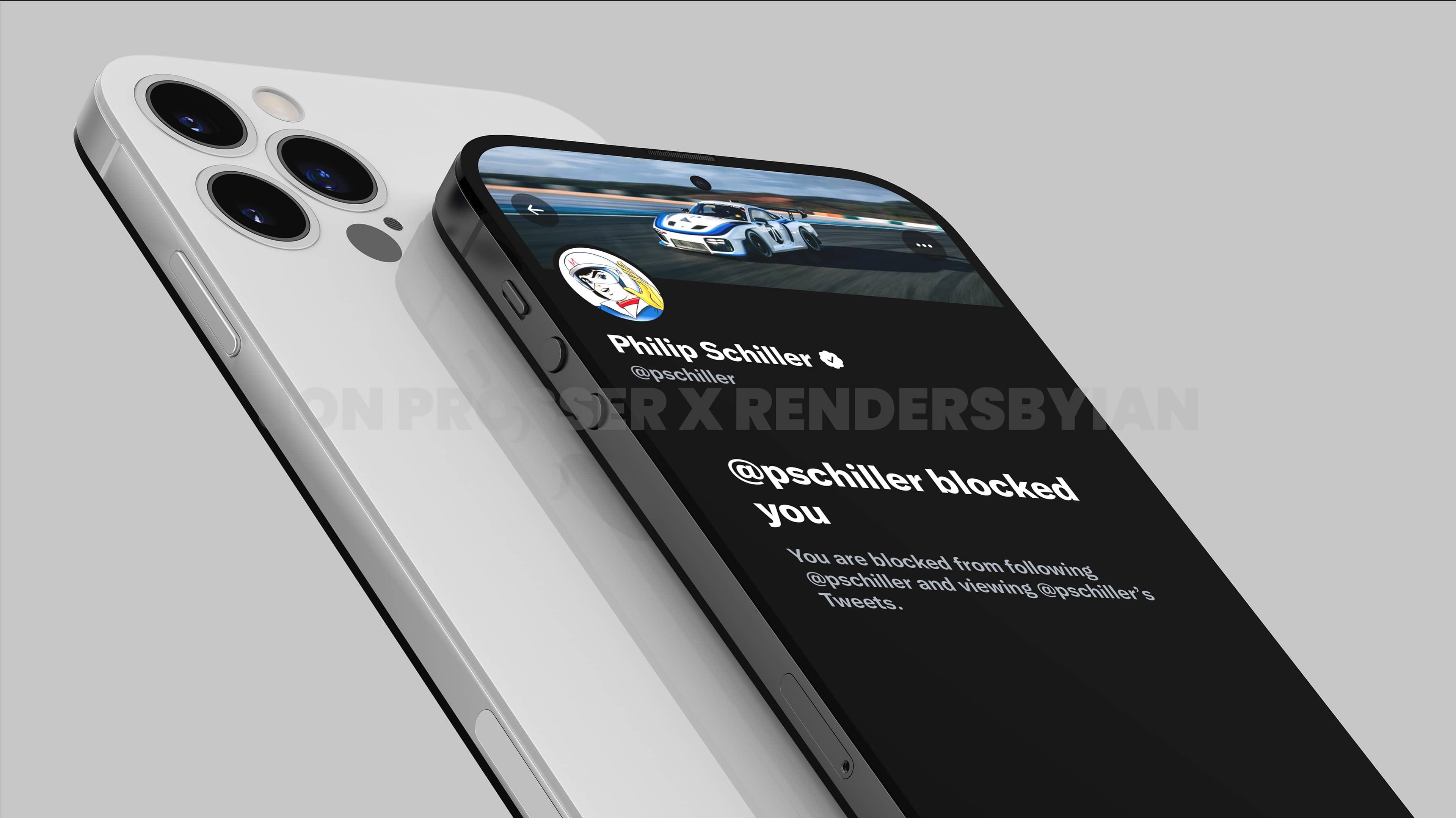 """Render de """"iPhone 14"""" por Jon Prosser"""