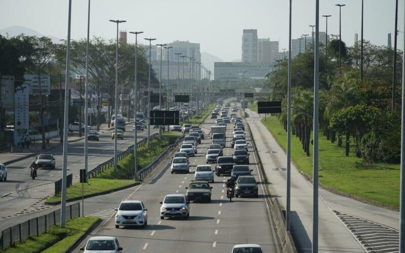 Trânsito na cidade do Rio de Janeiro