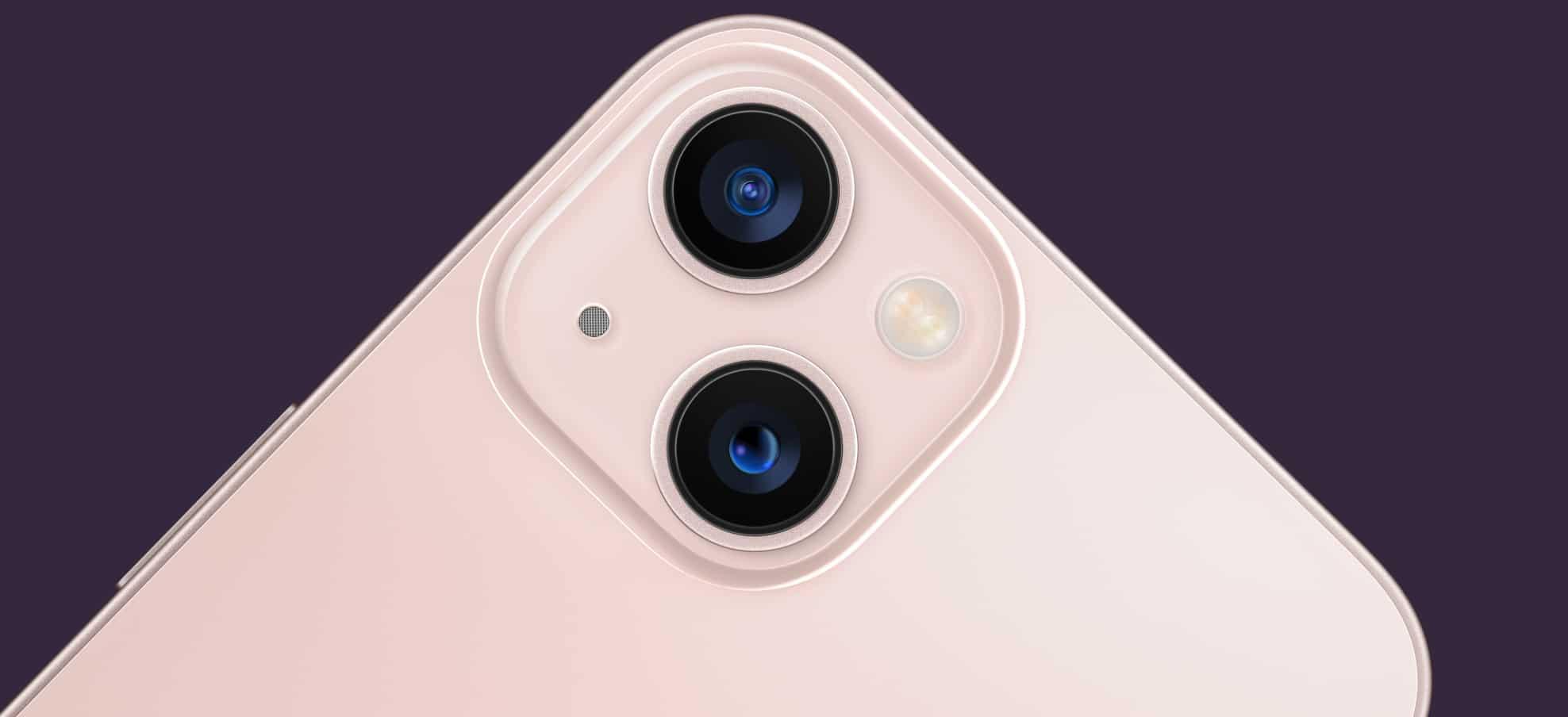 Câmeras traseiras do iPhone 13