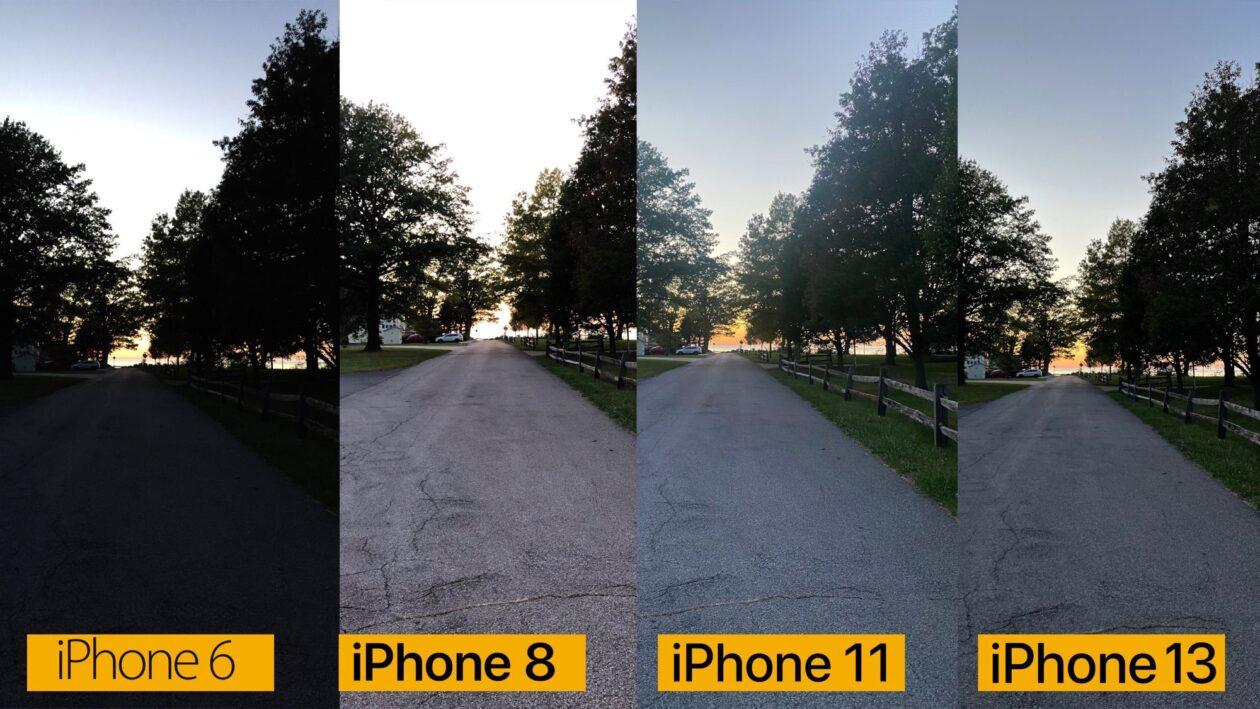 Comparativo de câmeras: iPhone 6, iPhone 8, iPhone 11 e iPhone 13
