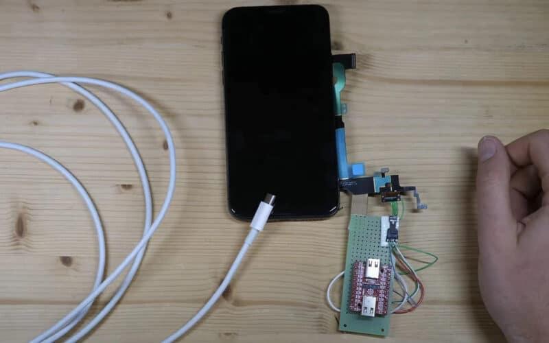 iPhone X com USB-C