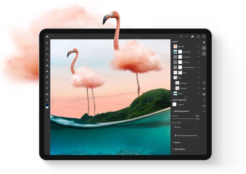 Photoshop no iPad