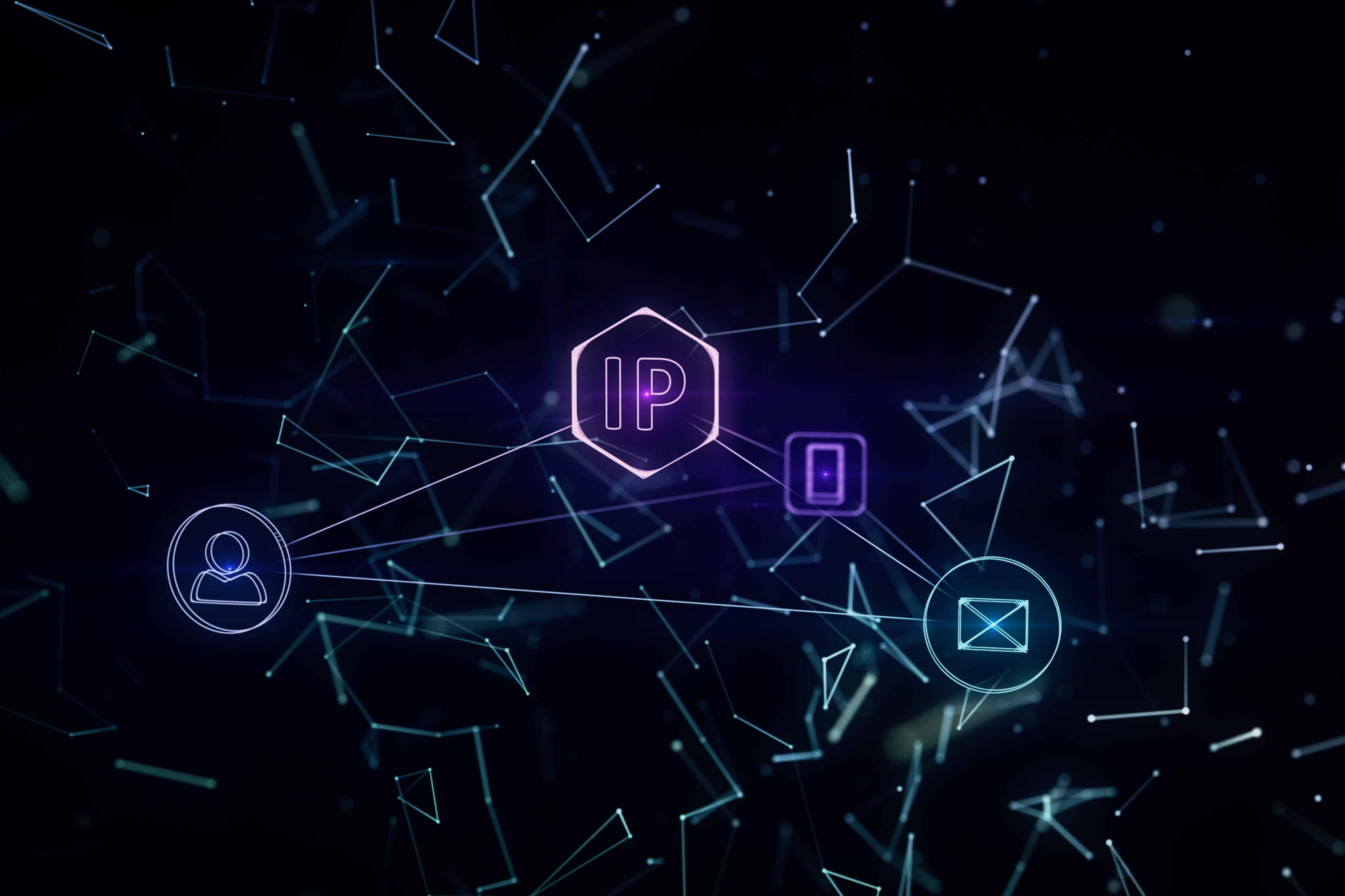 Ilustração sobre endereço IP