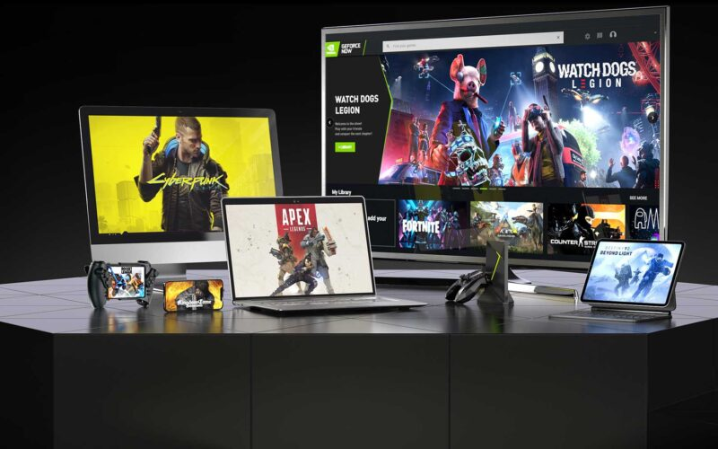 GeForce NOW em dispositivos