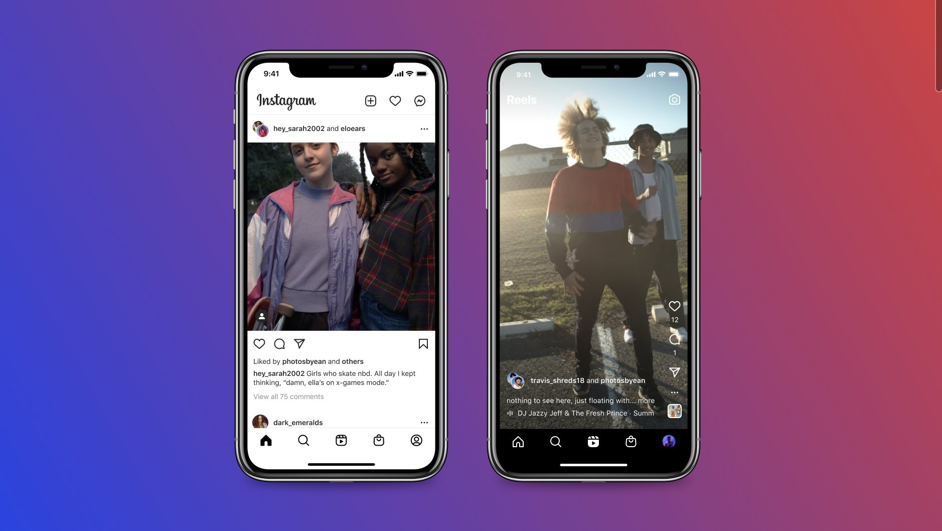 """Collabs"", coautoria de posts no Instagram"