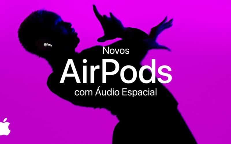 Vídeo dos AirPods (3ª geração)