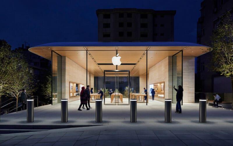 Exterior da Apple Bağdat Caddesi