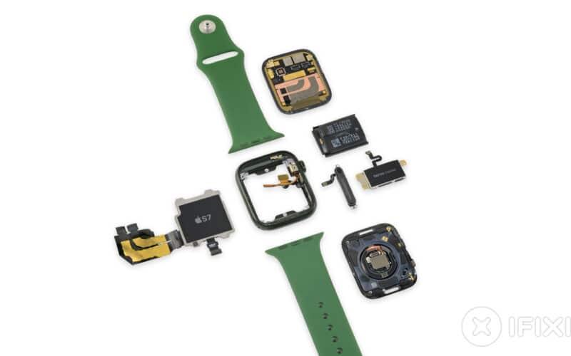 Teardown do Apple Watch Series 7