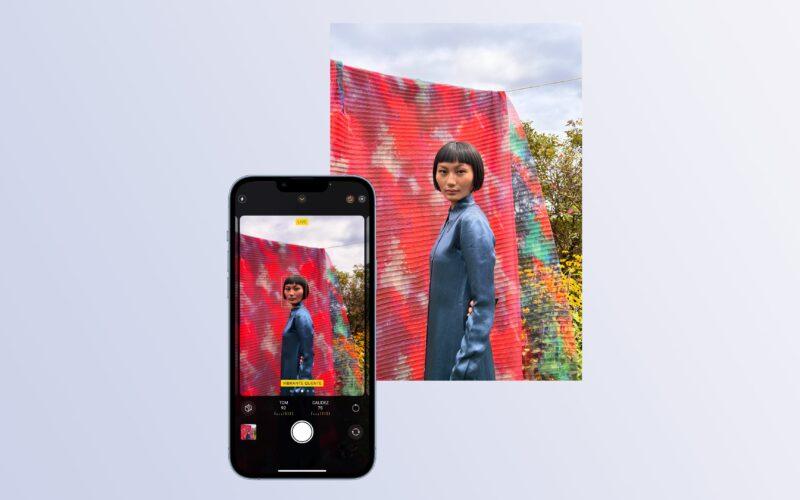 Estilos Fotográficos do iPhone 13