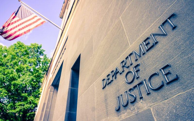 Departamento de Justiça (Department of Justice, ou DoJ) dos Estados Unidos