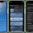 Enviar feedback do app Tempo no iOS 15