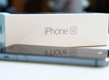 Caixa do iPhone SE