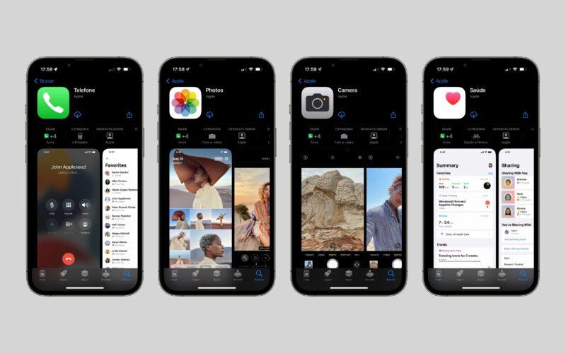 Review de apps nativos da Apple na App Store