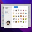 Memoji na tela de login do Mac