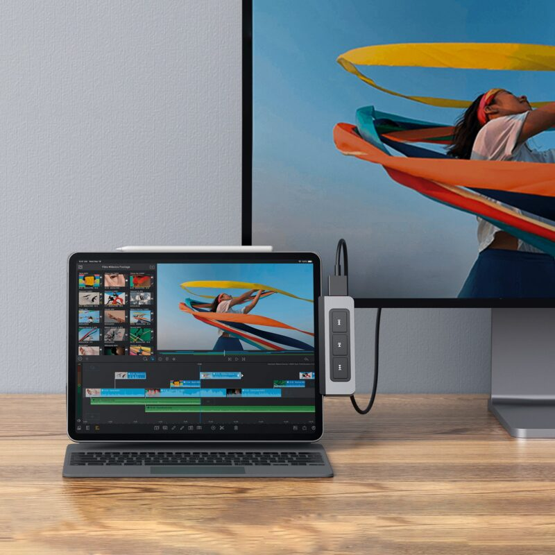 Hyper 6 in 1 USB-C Hub for iPad