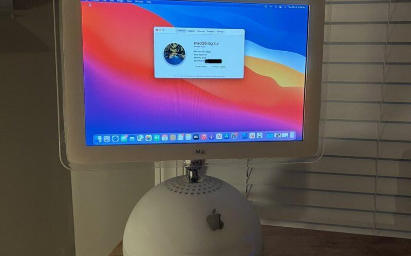 iMac G4 com chip M1