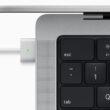 Cabo MagSafe conectado ao novo MacBook Pro de 14 polegadas