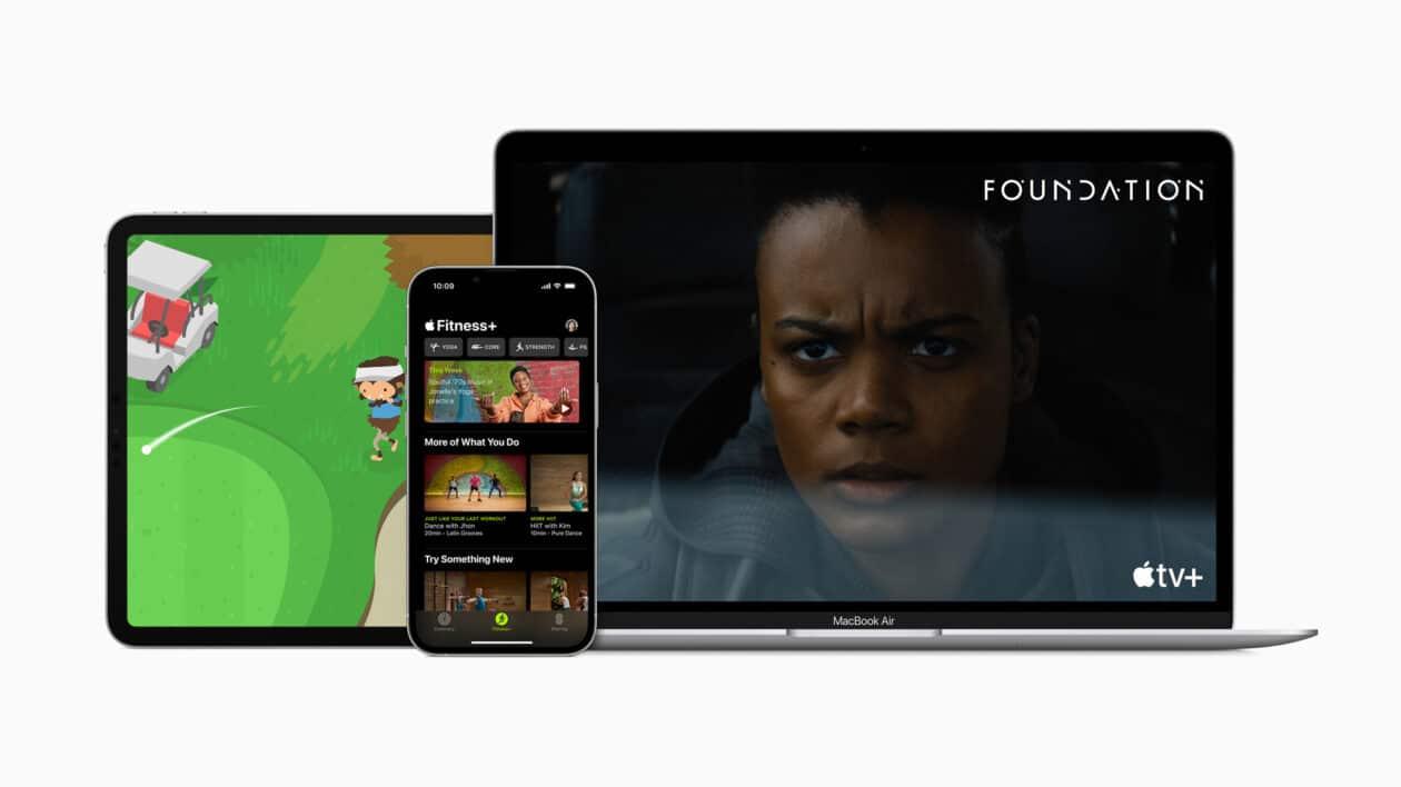 Imagem hero do Apple One